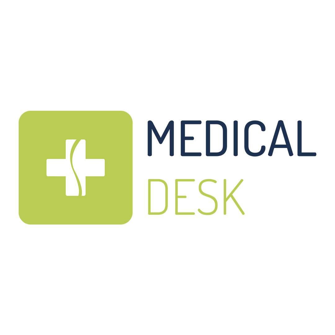 MEDICALDESK - Logo squared